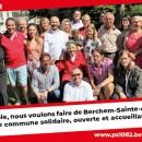 Présentation de la liste PS-sp.a avec Marc-Jean Ghyssels, Bourgmestre de Forest