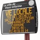 Proposition 15: Placer des panneaux d'informations électroniques