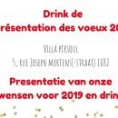 Drink de l'amitié pour les voeux 2020